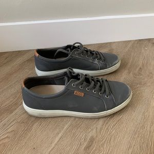 Soft 7 Ecco Charcoal Sneakers